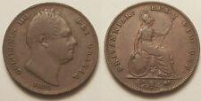 Royaume-Uni, Angleterre, Guillaume IV, Farthing 1835 !!
