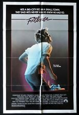 FOOTLOOSE Kevin Bacon VINTAGE US One sheet Movie poster
