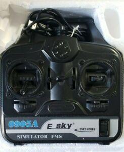 ESKY Hobby Simulator FMS Models 002258.  E SKY * 0905A * USB