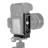 L Bracket DSLR Camera Quick Release Plate Tripod Ball Head Mount for Canon