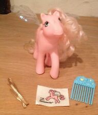 My Little Pony Vintage G1 Flutter Pony Honeysuckle Original Wings Very Rare
