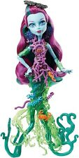 Monster High grand scarrier Reef Posea Poupée Lagoona Blue Glow in the Dark effet