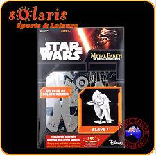 Fascinations Metal Earth Licensed Star Wars SLAVE I 3D Miniture Model