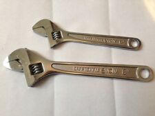NEW Craftsman 2 pc. Adjustable Wrench Set 8 inch and 6 inch