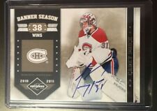 2011-12 Carey Price #14 Panini Limited Banner Season Auto /24 11-12 Autograph