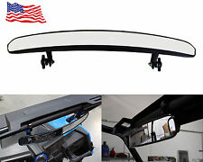 "15'' Wide Rear View Race Mirror Convex Mirror 1.75"" Clamp UTV Offroad #008"