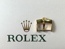 HEBILLA/BUCKLE ROLEX ORIGINAL 16MM BAÑO ORO 18K