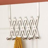 Newly 6-hook Storage Holder Back Door Hanger Home Bath Kitchen Organizer Rack