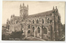 Yorkshire - Selby Abbey, SE - 1900's card