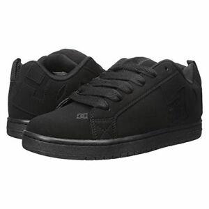 DC Skateboard Shoes Court Graffik Black/Black/Black - BRAND NEW!