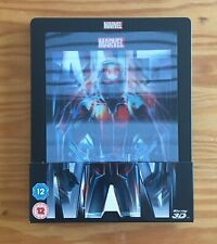 "Ant Man 3d Blu ray ""lenticular"" steelbook"