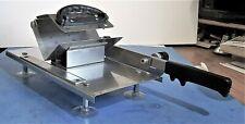 Adjustable Manual Meat Food Slicer Stainless Steel For Slicing Meat & Vegetables