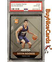 2015 Devin Booker Panini Prizm Base RC Rookie #308 PSA 10 Gem Mint