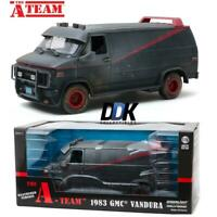 GREENLIGHT 13567 THE A-TEAM 1983 GMC VANDURA WEATHERED DIECAST MODEL VAN 1:18