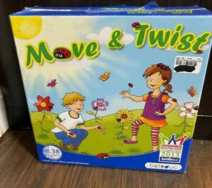 Beleduc Move & Twist Game 38 pieces Factory sealed NEW board ladybug Germany
