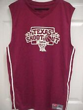 Texas Shoot Out 14 Texas Sports Hall of Fame Basketball Maroon Jersey Xl Nike