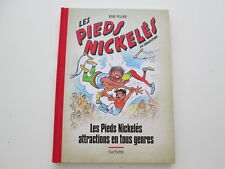 PIEDS NICKELES ATTRACTIONS EN TOUS GENRES N°58 TTBE/NEUF DOS TOILE ROUGE