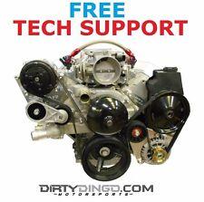 Dirty Dingo LS Camaro Style Alternator Power Steering And Street Rod AC Brackets