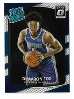 2017-18 Donruss optic basketball rated rookie De'aaron fox Rookie card RC