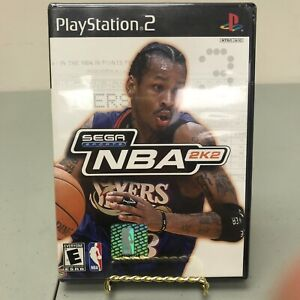 NEW NBA 2K2  Playstation 2 Game SEALED PS2 2002 Basketball Sega Sports