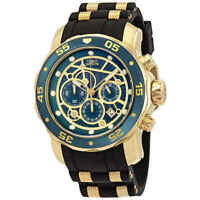 Invicta Pro Diver Chronograph Green Dial Men's Watch 25708