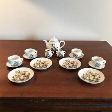 Hummel Miniature 16 pc Tea Set 'Hansel & Gretel' - Reutter Porzellan Germany Nib