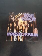 "faster pussycat house of pain UK 7"" single picture sleeve excellent condition"