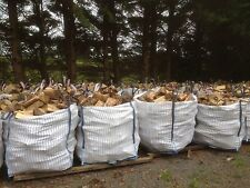 1 Metre Cube Bulk Bag of Firewood Logs Wood In Extra Large Tonne Sack