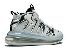 Nike Air More Uptempo 720 QS 1-White Chrome- Mens Sz 11.5
