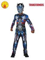 RUBIES Boys Fancy Dress Costume Licensed Transformers Optimus Prime Deluxe 8014