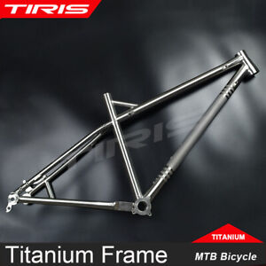 Tiorays Titanium Frame Mountain Bike Bicycle In/External Cable GR9 Ti Custom