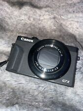 canon powershot g7 x mark iii used