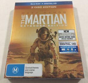 The Martian (2015) - Extended Ed. Slipcover Blu-Ray Region B | New | Matt Damon