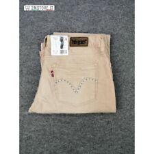 LEVI'S Velluto jeans LEVIS 572 Cipria STANDARD FIT BOOTCUT Vita Bassa VINTAGE