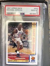 ***Michael Jordan Upper Deck 1991 #452 East All-Star PSA GEM MINT 10, GORGEOUS!!