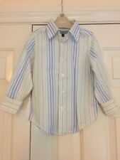 Boys Red Herring Shirt Age 4 Years Striped Long Sleeve Formal Party Wedding