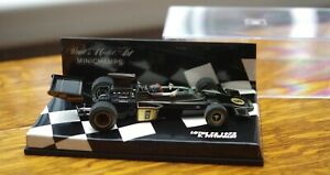 EMERSON FITTIPALDI LOTUS 72 MINICHAMPS 1972 World Champion CAR