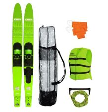 Jobe Allegre Combo Lime Watersports Ski's Package