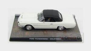 Ford Thunderbird Cabriolet Closed 1965 007 James Bond EDICOLA 1:43 BONDCOL042