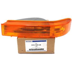 Ford F150 F250 F350 Bronco Left Driver Orange Turn Signal Corner Light Lamp OEM