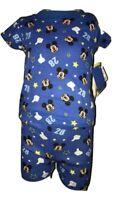 Disney Junior Mickey Mouse Boys Blue 2 Piece Short Sleeve Pajama Set Size 24 Mon