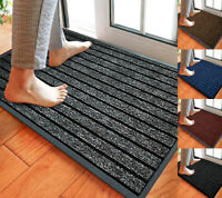 Non Slip Rubber Mat Door Mats Indoor Outdoor Washable Rugs Welcome Door Mat