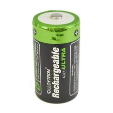 Lloytron B017 NIMH AccuUltra D Rechargeable Battery - 3000mAh Pack of 2