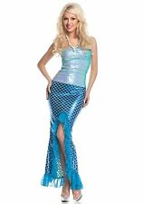 Womens Sequin Mermaid costume by Mystery House size Large