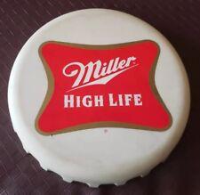 Vintage 1998 Miller High Life Foam Rubber Beer Cap Caddy Tray Cooler Floats VTG