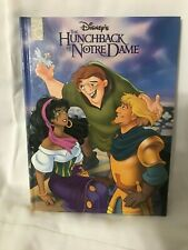 1996 The Hunchback of Notre Dame Mouse Works Classic Hardcover Disney Book Rare