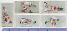 Ju-Jitsu Japanese Martial Combat Art Ju-Jutsu 5 100+ Y/O Trade Ad Cards 4