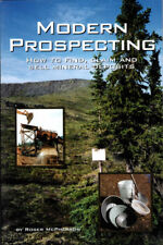MODERN PROSPECTING How to Find Claim Sell Mineral Deposits file stake gold BOOK