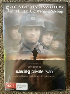 Saving Private Ryan DVD Region 4 New & Sealed
