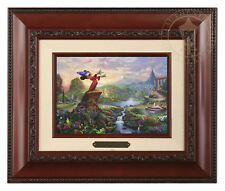 Thomas Kinkade Disney's Fantasia Framed Brushwork (Brandy Frame)